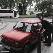 old fiat polish people turn to crowdfunding to send tom hanks a fiat 126p