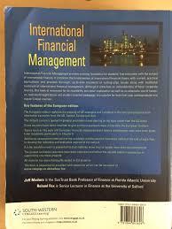 international financial management jeff madura roland fox