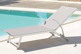 chaise longue hesperide chaise longue jardin confortable transat de jardin transat de