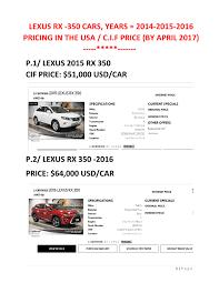 lexus rx 350 price 2014 lexus rx 350