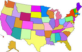 China Usa Map by Clip Art Usa Map With Capitals Clipart China Cps