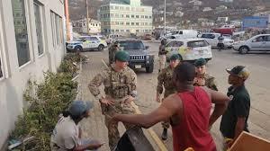 hurricane irma british police sent to overseas territories bbc news