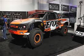baja truck suspension sema 2016 fox shows and tells on livevalve technology