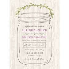 jar invitations jar standard wedding invitation walmart