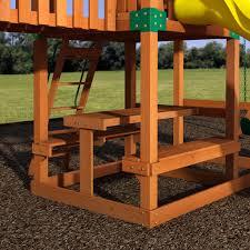 safari wooden swing set playsets backyard discovery