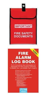 fire alarm document cabinet fire log books document holders cabinets