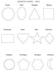 shape recognition worksheet free shapes worksheets kiddo shelter