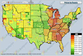 map us gas prices usa gas price heat map matsu s world the one less traveled