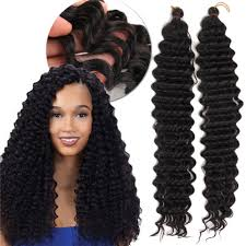 medium size packaged pre twisted hair for crochet braids black wand curl pre loop crochet long hair extensions rosegal com