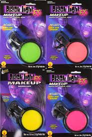 how to use black light paint glow in the dark blacklight cream pod makeup costume face body paint