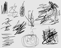 scribble vector and photoshop brushes pack 3 vector u0026 photoshop