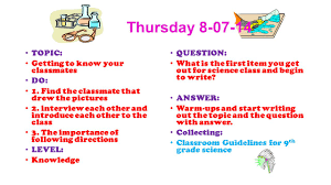 how to find a classmate warm ups 1 st quarter astronomy wednesday topic classroom