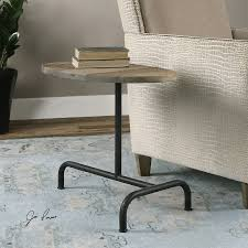 Industrial Accent Table Uttermost 24531 Martez Industrial Accent Table Homeclick Com