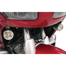 goldwing driving lights reviews rivco fairing mounted led driving lights for honda gl1800 gold wing