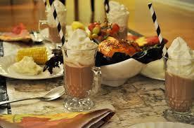 thanksgiving dessert for kids setting the kids table for thanksgiving pop by yaz