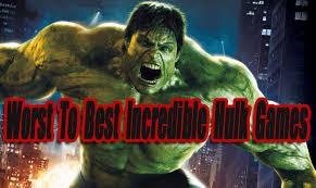 worst incredible hulk games level smack