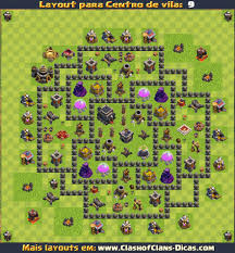 layout vila nivel 9 clash of clans layout cv 9 farm defesa e armadilhas troll
