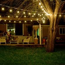 commercial grade outdoor string lights shine hai 48 foot weatherproof outdoor string lights ul listed