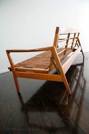 Vintage Modern Sofa Mid Century Modern Sofa Bed Frame 3 Seater Retro Wrightbilt