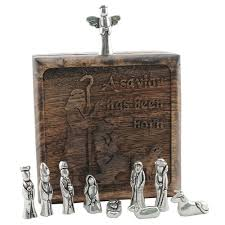 engraved keepsake box personalized shepherds keepsake box w pewter nativity figures