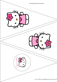 the vintage farmhouse hello kitty party u0026 free printables для