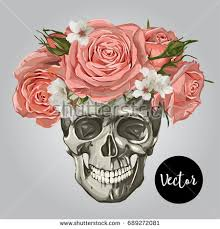 photos images of skulls and roses drawing gallery