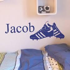 28 bespoke wall stickers personalised custom wall sticker bespoke wall stickers personalised football boots wall sticker by nutmeg