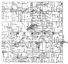 Michigan Township Map by Old Plat Maps 1864 1876 1897 1955 And 1965 66 Chester Township