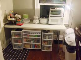 surviving your kitchen remodel robin rigby fisher temporary kitchen during remodel courtesy of danksandhoney com