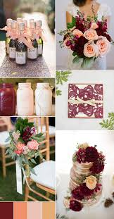 pink is a combination of what colors the top 8 peach wedding colors combinations trends for 2017