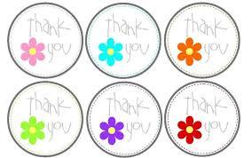 thank you tags free printable thank you tags