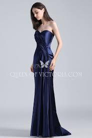 navy blue vintage sweetheart mermaid celebrity sandra bullock prom