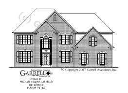 floor plans and elevations of houses berkley house plan house plans by garrell associates inc