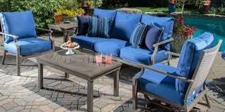 blue patio furniture home site