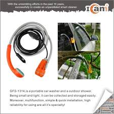 Portable Outdoor Shower Kit - camping kit 12v car plug portable outdoor beach pool shower with