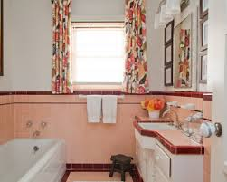pink tile bathroom ideas pink tile bathroom decorating ideas reasons to retro pink