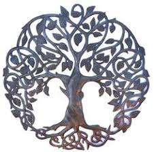 shades of grey tree of life infinity tree metal wall art tree of