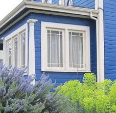 blue house white trim extraday blue house white trim