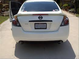 nissan altima coupe rear diffuser what did you do to your 4th gen altima today page 8 nissan