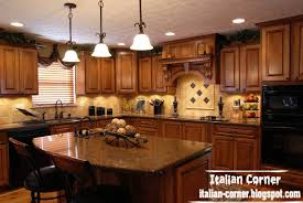 Wooden Furniture For Kitchen Luxury Italian Kitchen Designs With Wooden Cabinets Furniture
