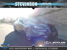 lexus frederick 2011 certified lexus is 250 vehicles at stevinson lexus of