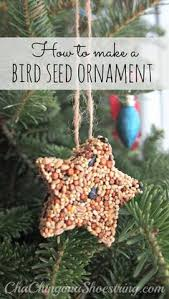Outdoor Christmas Tree Decorations For Birds by Christmas Make These Edible Ornaments For The Birds Hang Them