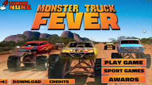 monster truck video games in monster truck fever game heavy machines tree cutter