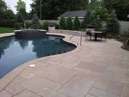 Dry Laid Patio by Harvest Brown Lurvey Landscape Supply