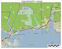 Louisiana Highway Map Alabama Arkansas Louisiana Mississippi Oklahoma Texas