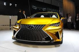 xe lexus ma vang choáng ngợp với siêu xe lf c2 vàng rực của lexus bizlive