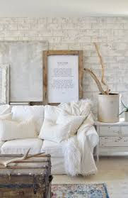 How To Hang A Picture On A Brick Wall Diy Faux Brick Wall