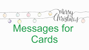 christmas cards messages christmas card messages