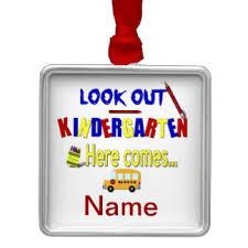 kindergarten ornaments keepsake ornaments zazzle