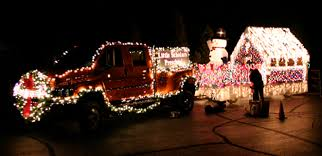 christmas light parade floats 30th annual fantasy of lights christmas parade howell mi november